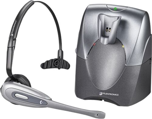 Plantronics CS55 Wireless Headset Over the Head with HL10 Lifter Free Shipping