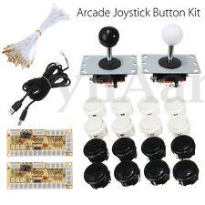 Zero Delay Arcade DIY Kit 2 USB Encoder PC 2 Joystick 20 Push Buttons für MAME