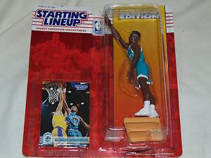 1994 Starting Lineup..Basketball...NBA. Alonzo Mourning. Charlotte Hornets