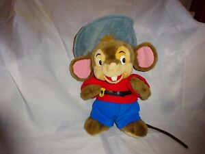 Vintage-1980-039-s-Fievel-American-tail-goes-west-soft-toy-Universal-studios