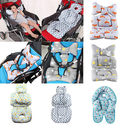 Baby Stroller Cushion Kids Car Safety Seat Pad Infant Pushchair Cotton Liner Mat