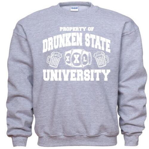 Drunken State University Funny St Patricks Day Sweatshirt