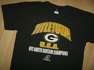 Green Bay Packers Tee - Titletown USA NFC North Champions Football T ... 25cffa860