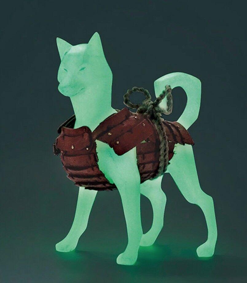 Pas02-g  ax2 poly - tier - serie   2 - 1   6 - skala shiba - inu hund (im dunkeln leuchten)