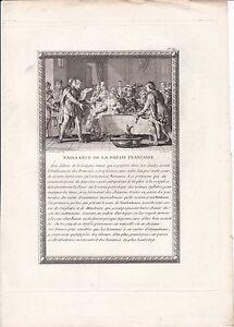 Gravure-XVIIIe-Scene-Naissance-de-la-Poesie-Trouveres-Troubadours-Fabliaux