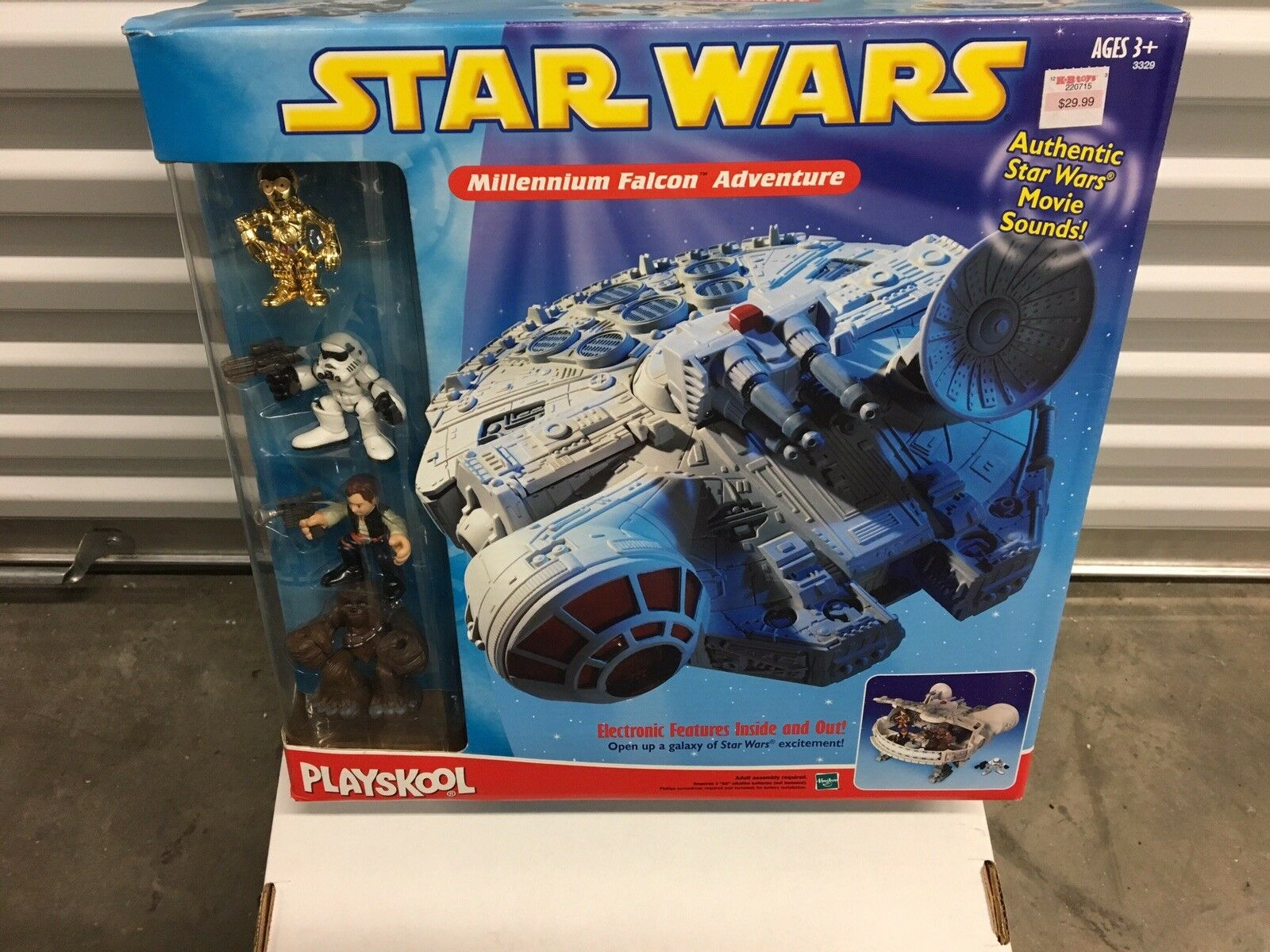 Playskool Galactic Heroes Star Wars Set - Millennium Falcon Adventure