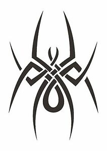 Celtic-Inspired-Spider-Stencil-350-micron-Mylar-not-thin-stuff-TaT0074