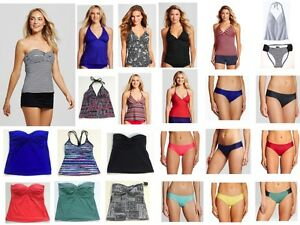 Mossimo-Womens-Tankini-Bikini-Bottom-Tabside-Hipster-Swim-wear-Bathing-Suit
