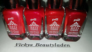 P2-Red-Temper-Red-Allures-Satin-Finish-Nagellack-10ml-Farbwahl