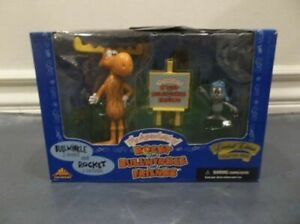 Rocky and Bullwinkle Premiere Limited Edition Collector Series Figures NIB