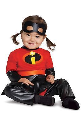 Violet Deluxe Disney Incredibles 2 Fancy Dress Up Halloween Baby Child Costume