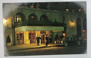 Vintage-Postcard-THE-MAYFLOWER-HOTEL-WASHINGTON-DC-Doorman-Mercedes-Limo