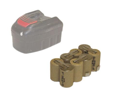9,6V 1500mAh NIMH Akku für Würth SL96 BS96-A Compact