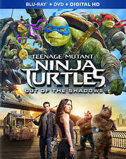 Teenage Mutant Ninja Turtles: Out of the Shadows (Blu-ray/DVD, 2016, 2-Disc Set, Includes Digital Copy)