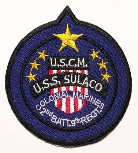 "COLONIAL MARINES ""USS SULACO"" Crew Patch ALIEN / ALIENS"
