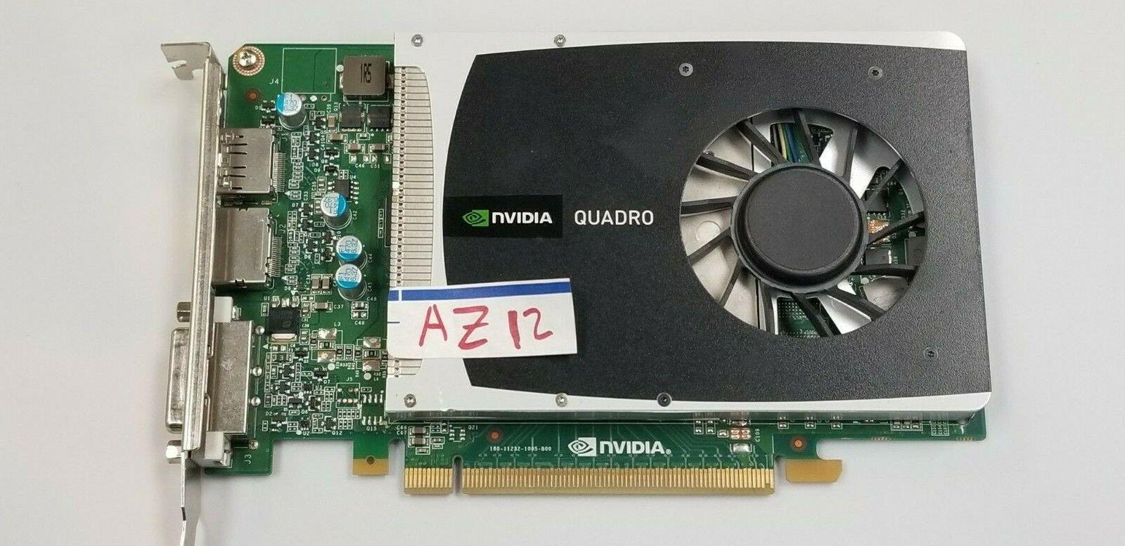nVIDIA Quadro 2000 1GB GDDR5 Gaming GPU Card DVI DP PCI-E working #AZ12