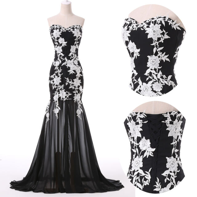 2015 Lace Mermaid Long Formal Evening Dress Party Bridesmaid Dress Wedding Gown