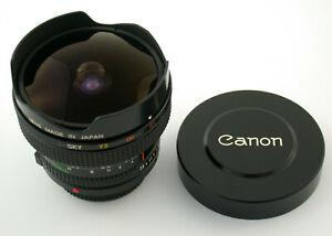 CANON-FD-2-8-15-15-15mm-F2-8-2-8-Fisheye-premium-adapt-A7-NEX-MFT-mint-wie-neu