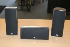 JBL 160SICEN Center Channel + 2 JBL 160SISAT Surround Sound Speakers * Pre-owned
