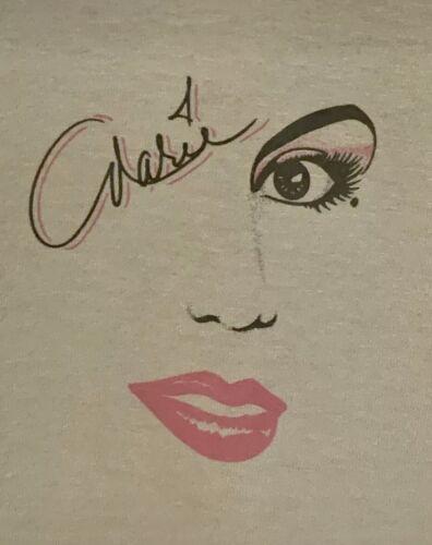 MARIA OSMAND *RARE* 1986 TOUR T SHIRT 80'S TEE DON