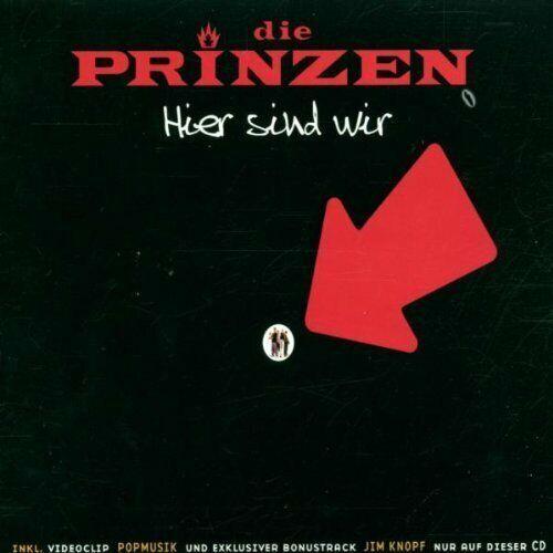 Die Prinzen Hier sind wir (2002)  [Maxi-CD]