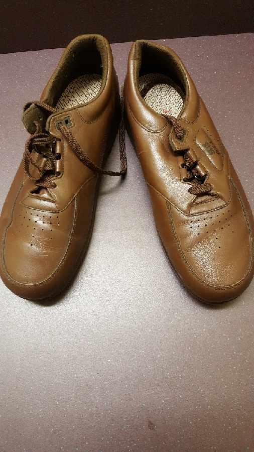 SAS Time Out Brown Orthopedic Diabetic Tripad Comfort Shoes Size 12
