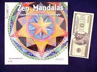 Zentangle Suzanne Mcneill Art Book Zen Mandalas Sacred Circles