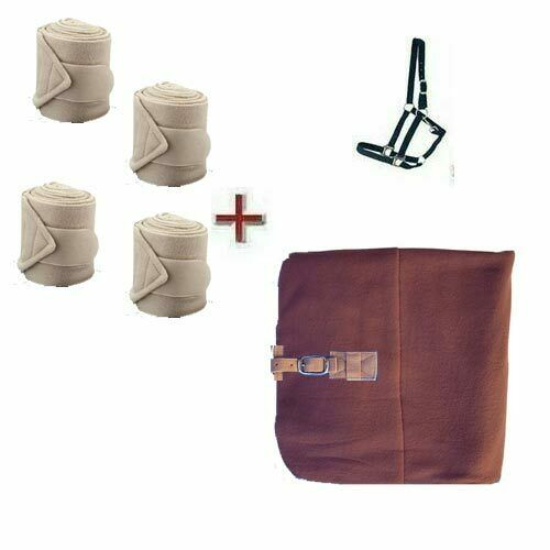 Holster Rug 145 cm Bandages New Coffee
