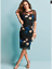 Kaleidoscope-Size-14-Black-Multi-Floral-Embroidered-DRESS-Occasion-Party-92 Indexbild 6
