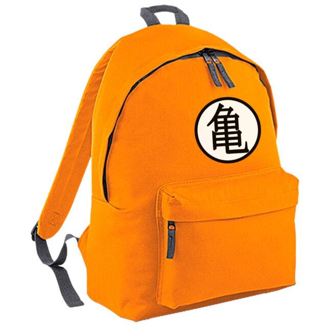 Goku's Training Symbol Backpack - Dragon Ball Inspired Unisex School College Bag