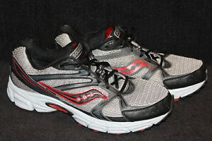 d5a66797cd68 Saucony Men s Grid Terrain Running shoes Size 11 Black Gray Red ...