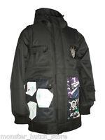 With Tags Technine Gooner Signature Snowboard Jacket Black Medium-2xlarge