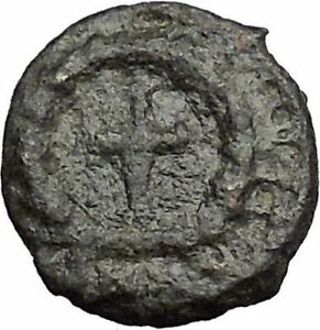 THEODOSIUS-II-425AD-Ancient-Roman-Coin-Cross-within-wreath-of-success-i32827