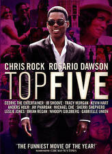 TOP FIVE DVD CHRIS ROCK ROSARIO DAWSON