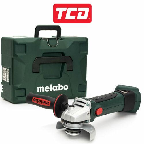 Metabo W18LTX115 18 V 115 mm Meuleuse d/'angle-Corps Seulement 602170840-Unité Nue
