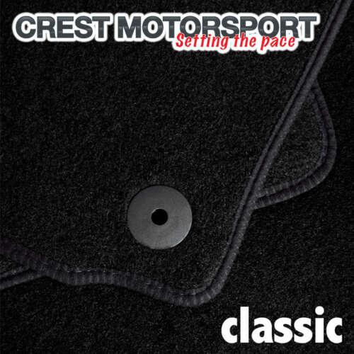 Classic Su Misura Nero Tappetini Per Auto MG MGF 4-CLIP