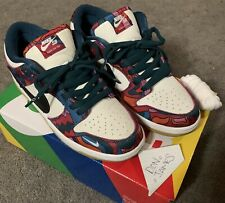 Size 9.5 - Nike Dunk Low Pro SB x Parra Abstract Art 2021