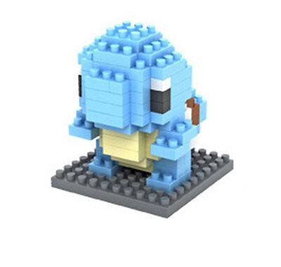LOZ Nano Mini Diamond Building Blocks Lego Toy Pokemon Pocket Monster Squirtle