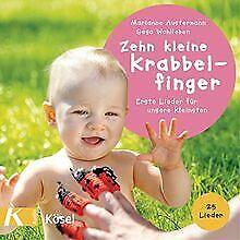 Zehn-kleine-Krabbelfinger-Erste-Lieder-fuer-unsere-Klein-Buch-Zustand-gut