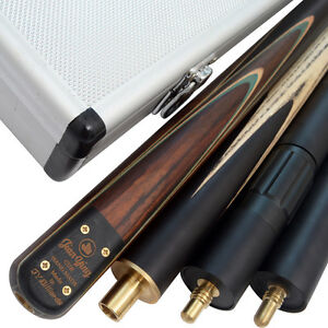 AMAZING-RARE-ROSEWOOD-MULTI-SPLICED-SNOOKER-CUE-SET-TSC7