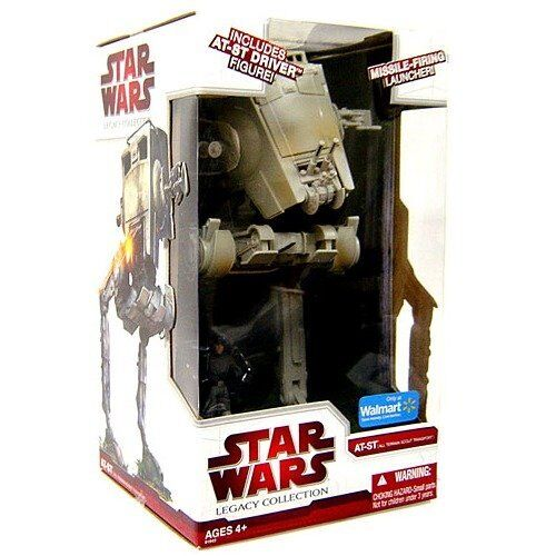 Star wars Legacy AT-ST WITH DRIVER WalMart Exclusive New Sealed