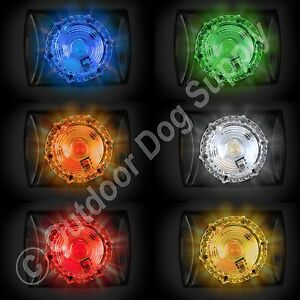 Details About Hunting Series Locator Dog Pet Collar Safety Beacon Adventure Light In 6 Colors
