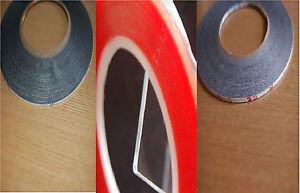 1mm 2mm und rot ultra starkes doppelseitig klebeband f r handy handwerk ebay. Black Bedroom Furniture Sets. Home Design Ideas
