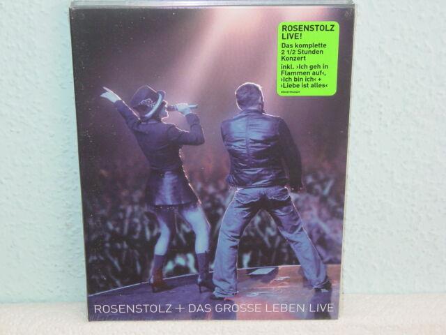 """****DVD-ROSENSTOLZ""""DAS GROSSE LEBEN LIVE""""-2006 Universal Music****"""