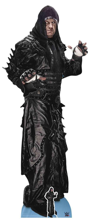 The Undertaker Ministerium für Dunkelheit WWE lebensechte Größe & Mini Pappfigur | Bevorzugtes Material  | Spielen Sie das Beste