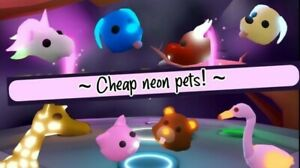 Adopt Me Pets With Potions Read Desc Ebay