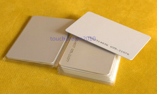 Pack of 50pcs Contactless 125KHz Em RFID ID Proximity Smart Entry Access Card