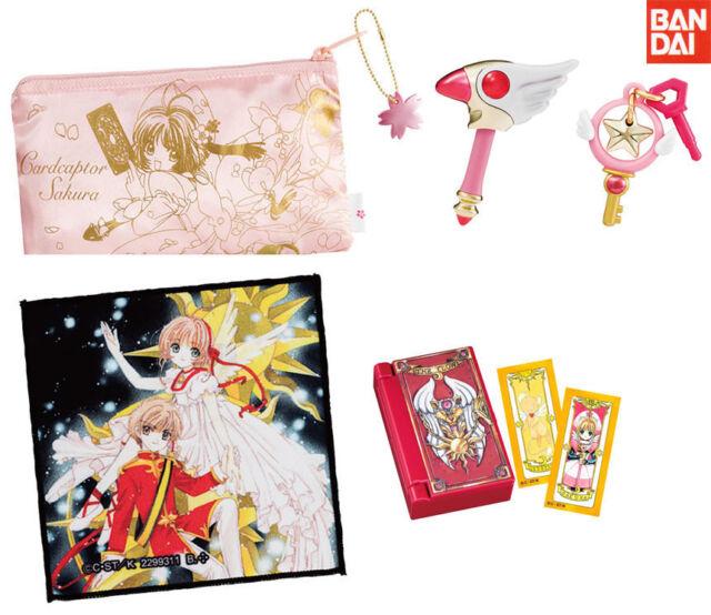 BANDAI Cardcaptor Sakura Unsealed Goods Gashapon set of 5