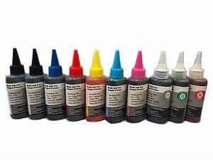10 pks Comp Ink Cartridges PGI-9 PGI9 for Canon Pixma Pro 9500 Printer