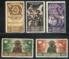 Corpo Polacco 1946 Soccorso di Guerra n. 18/21 ** (m3062)